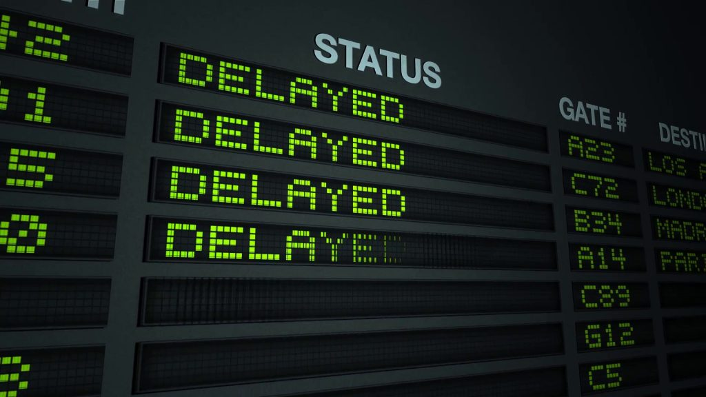 Top Reasons Why Flights Are Delayed