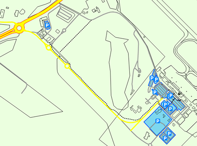 HBA Hobart Airport Parking Map