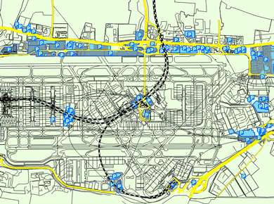 LHR Airport Parking Heathrow Map