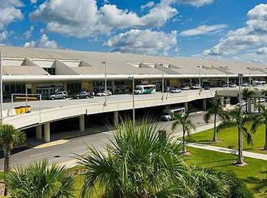 Fort Myers Airport Parking Map