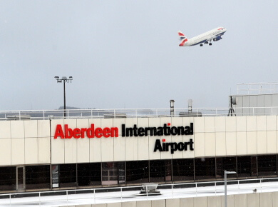 Aberdeen Airport United Kingdom ABR logo
