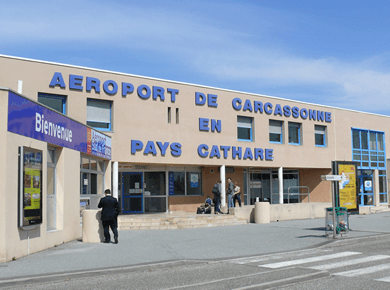 Parking Aéroport Carcassonne Logo
