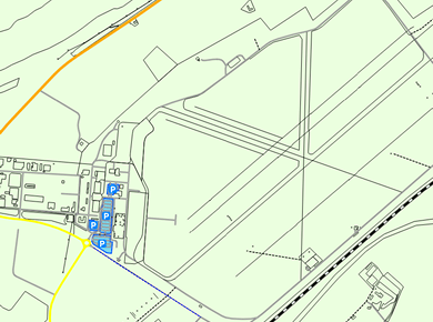 INV Inverness Airport Parking Map