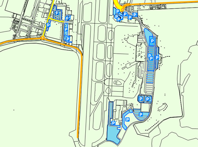 WLG Wellington Airport Parking Map