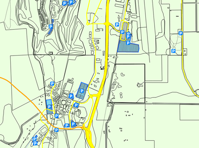 YLW Kelowna International Airport Map