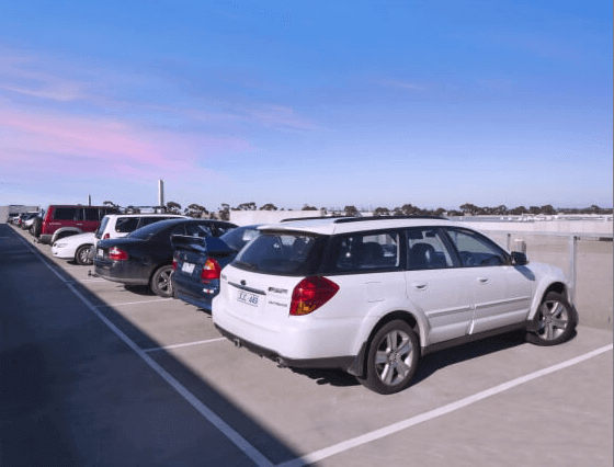 ace melbourne airport parking default