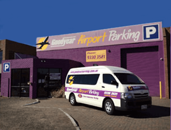 goodyear melbourne airport parking default