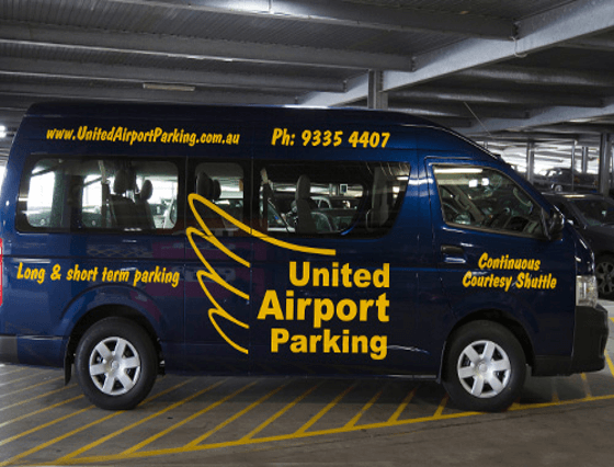 united melbourne airport parking default