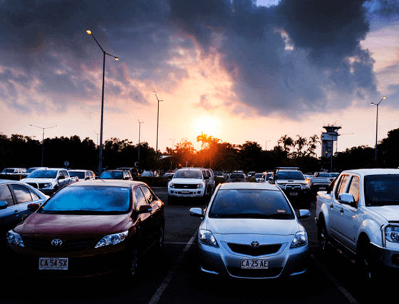 darwin airport short stay parking default