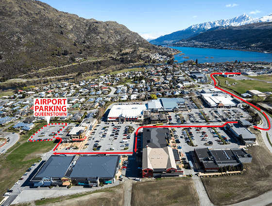 airport parking queenstown default