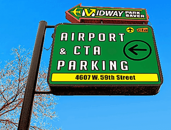 Midway park saver Chicago airport parking logo1