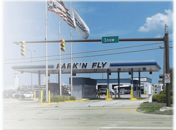 park'n fly cleveland airport parking logo