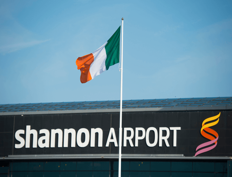 Park4Less Shannon airport parking default