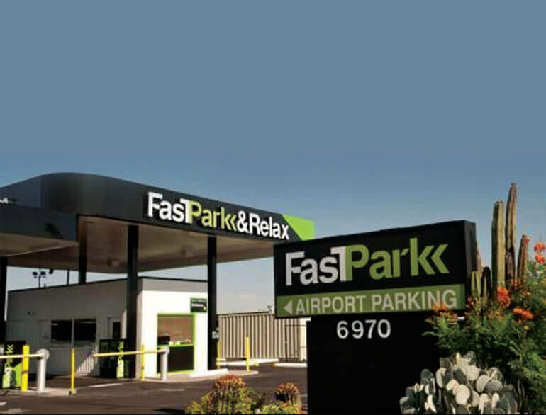 FastPark & relax Tucson airport parking default
