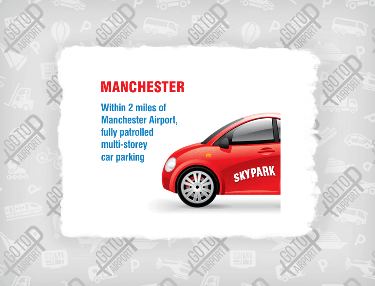 skypark Manchester airport parking default
