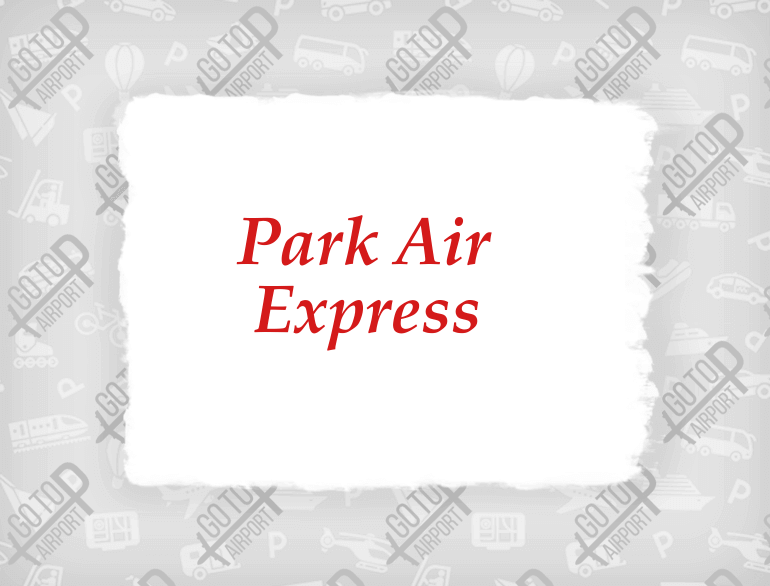 park air express valet airport parking kansas city logo