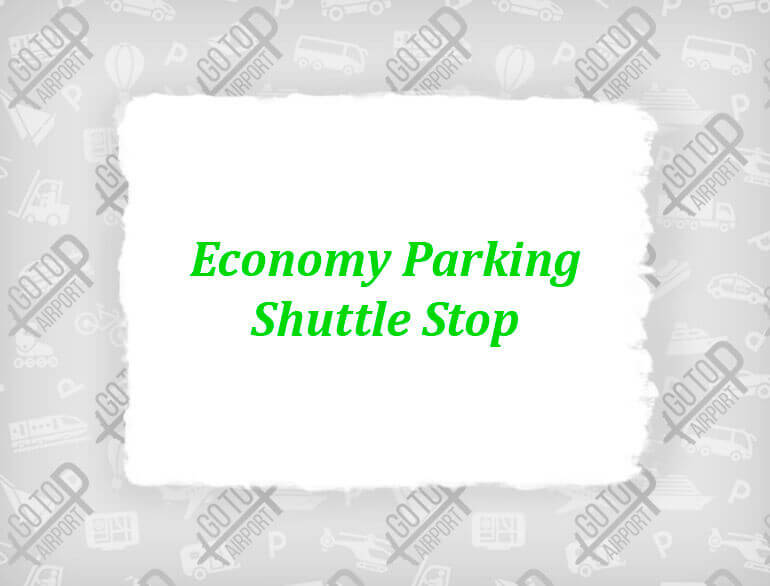 Economy parking shuttle stop Tucson airport parking default