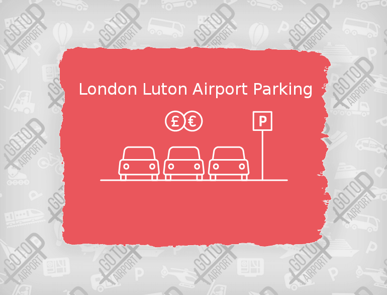 London Luton airport parking default