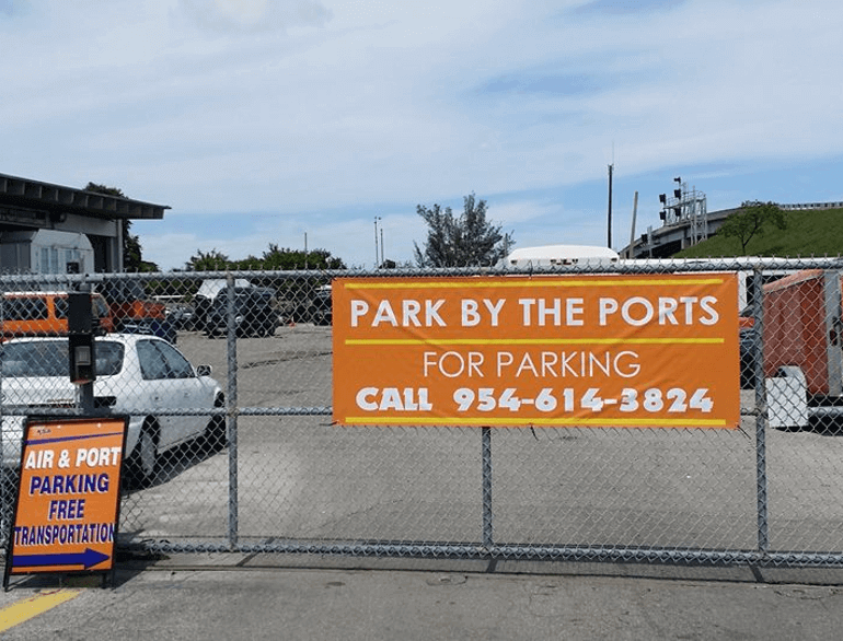 park by the ports hollywood airport parking default