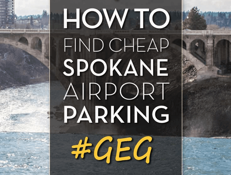 airport concourse c parking spokane logo