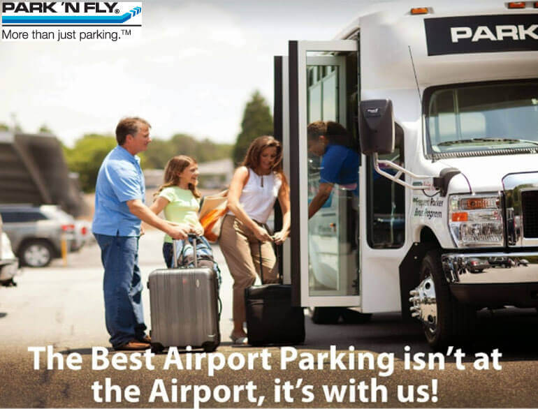 Park 'n fly Ontario airport parking default