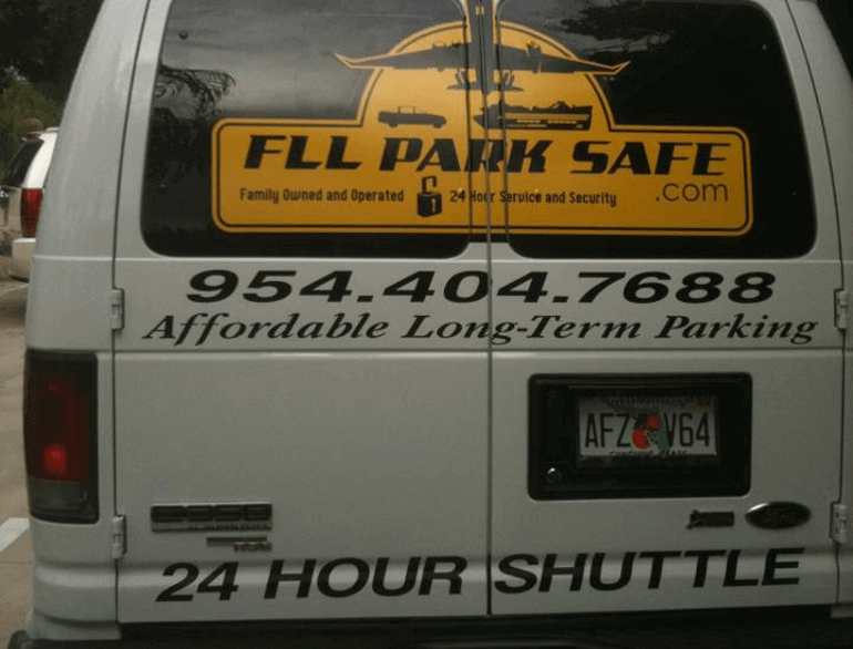 fll park safe fort lauderdale airport parking logo
