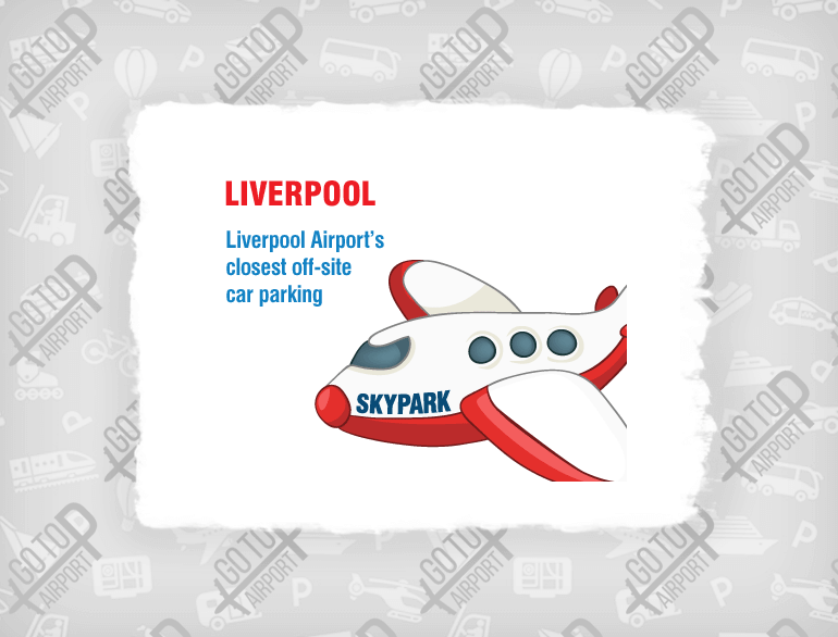 Skypark Liverpool airport parking default