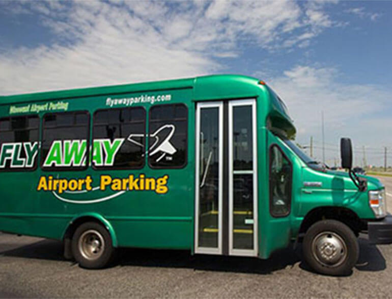Fly away airport parking Nashville logo1
