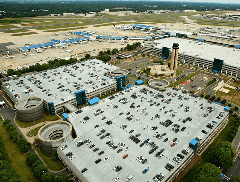 daily north lot charlotte douglas airport parking default