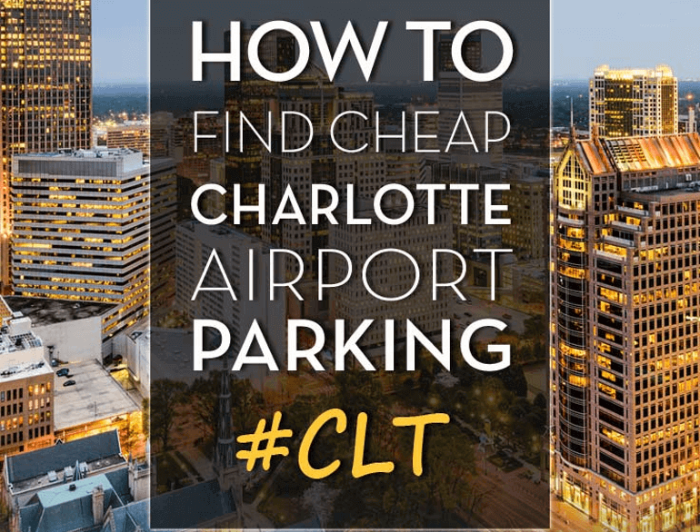daily north lot charlotte douglas airport parking logo