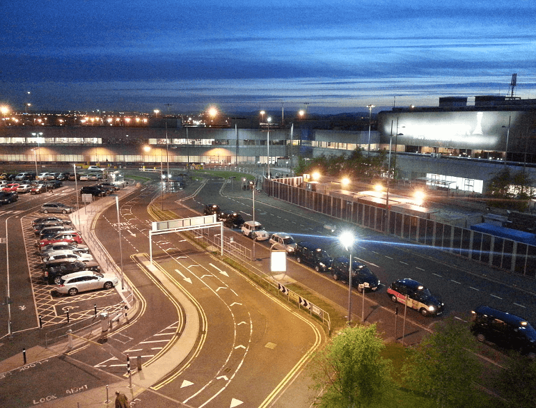 edinburgh terminal surface airport parking edi default