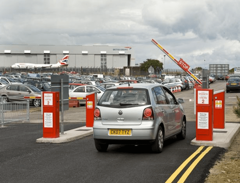 Cardiff airport parking default