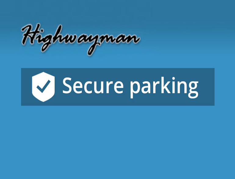 Highwayman airport parking default
