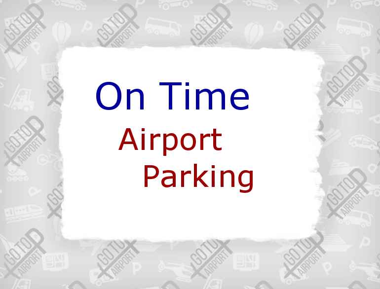 albuquerque on time airport parking logo1