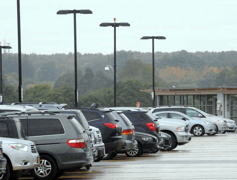albany long-term airport parking default