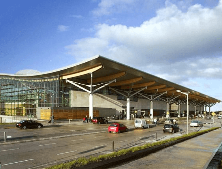 Cork airport parking default