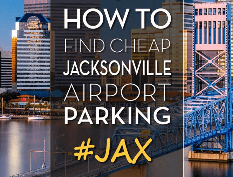 jacksonville airport parking economy lot logo