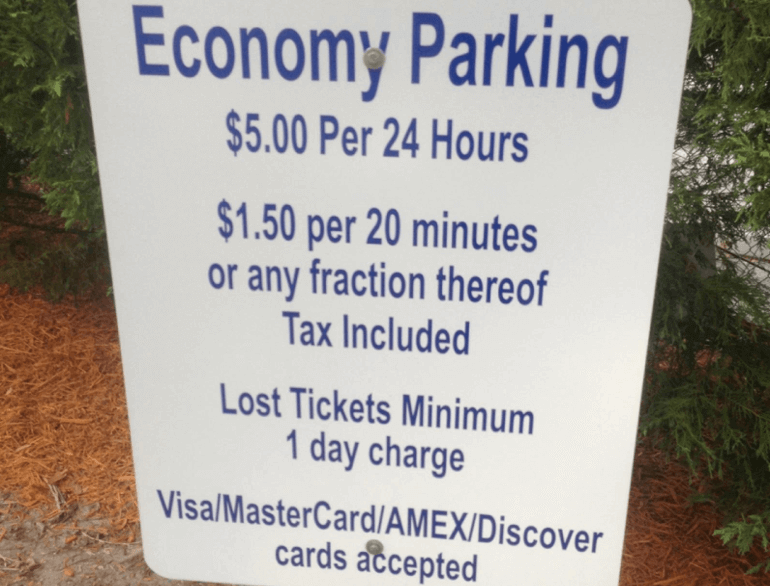 jacksonville airport parking economy lot logo1