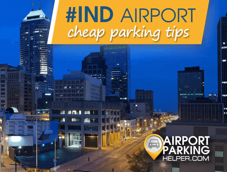indianapolis international airport economy lot default