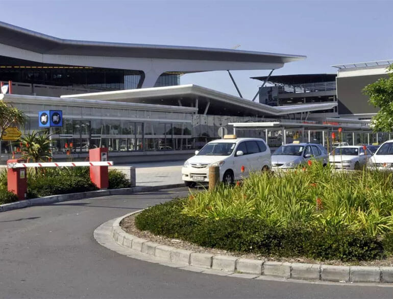 P1 parkade - short stay Cape Town airport parking default