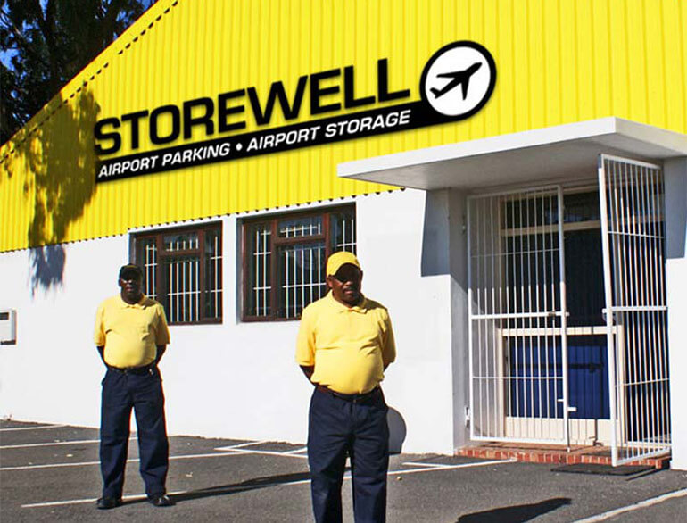 Storewell Cape Town airport parking default