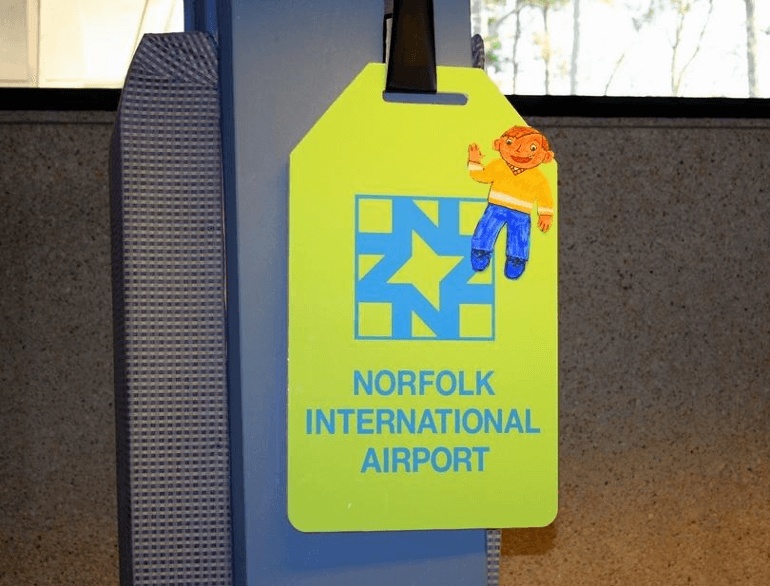 norfolk international airport parking north lot logo1