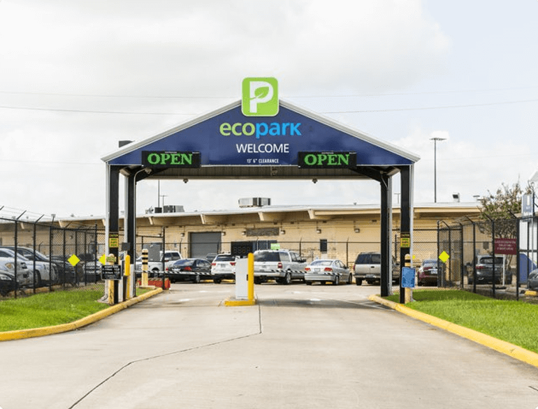 ecopark hobby airport parking logo