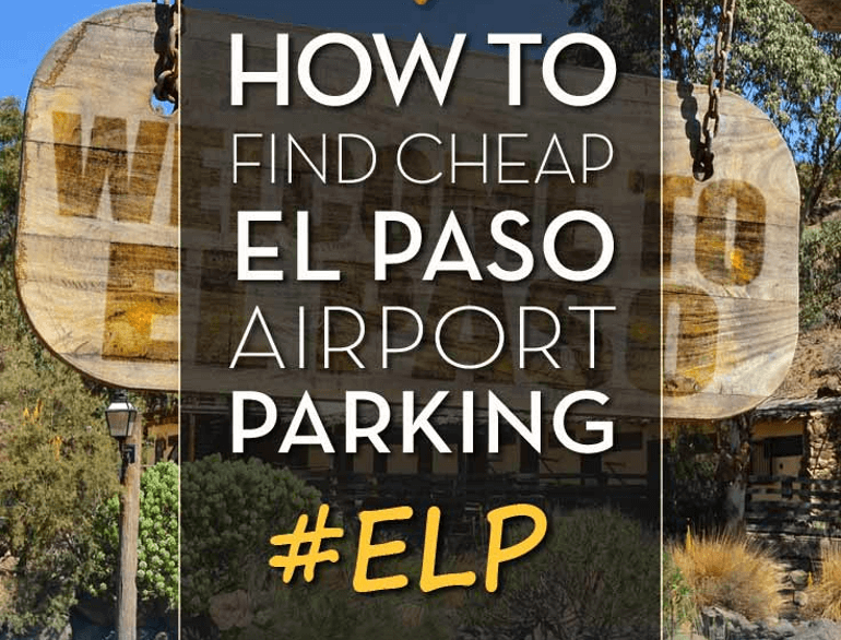 el paso international airport short term parking logo