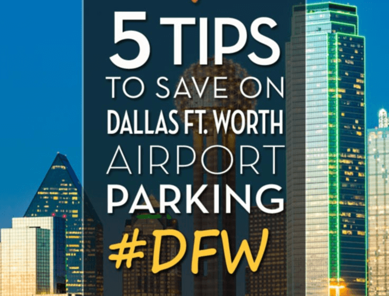 remote south parking dallas international airport logo