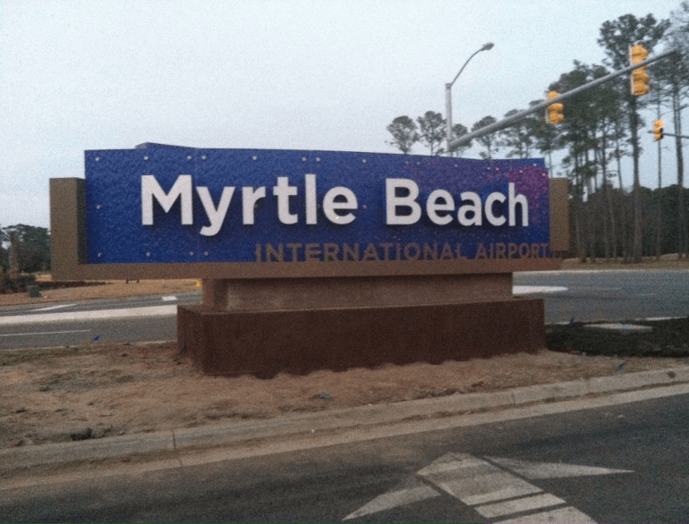myrtle beach long term airport parking default