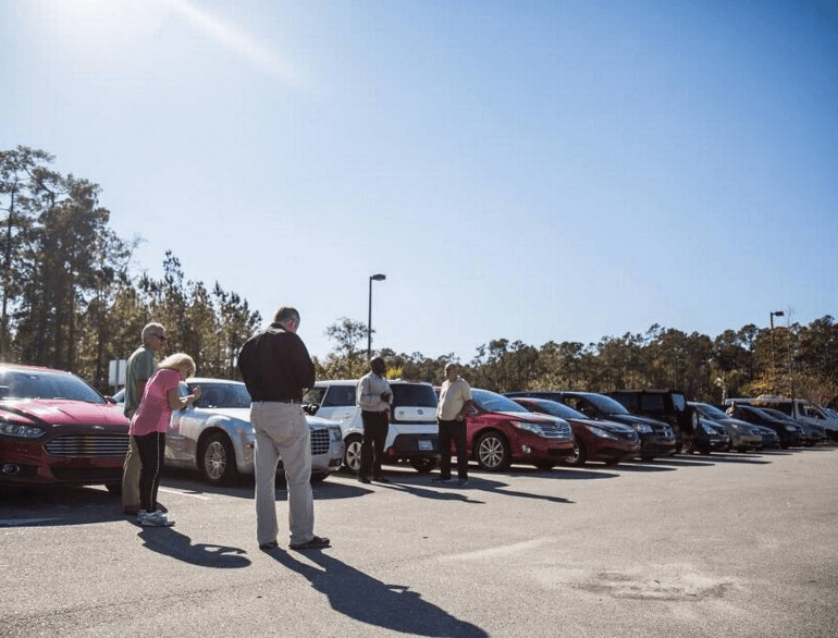 myrtle beach economy lot airport parking default