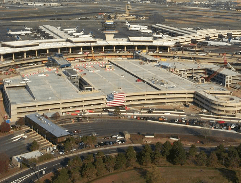 newark airport terminal c garage parking default