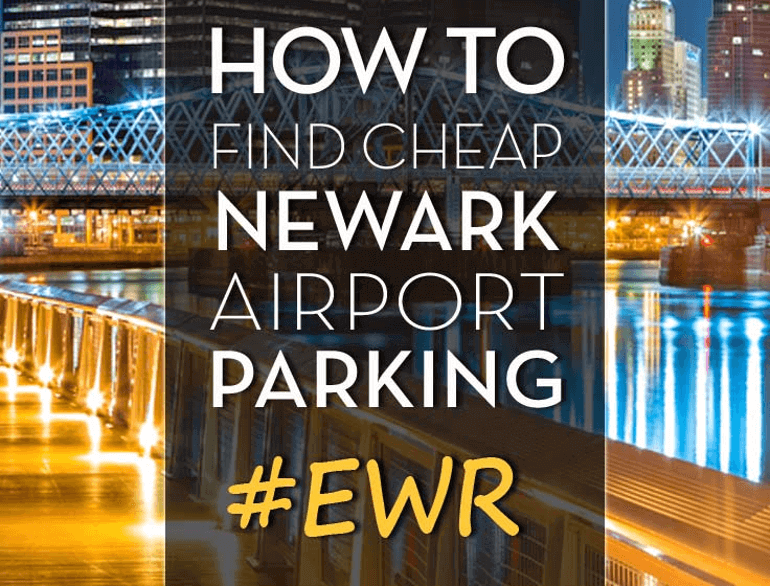 newark airport daily parking p3 logo