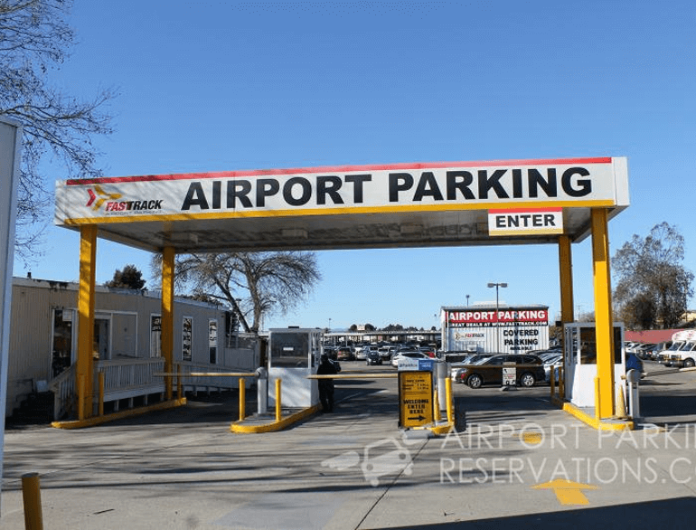 oakland fast track airport parking default